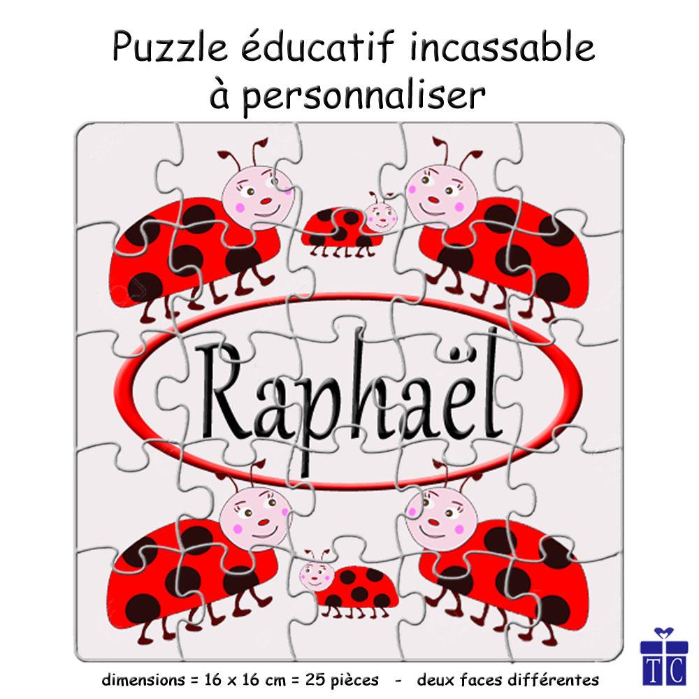 Puzzle coccinelle