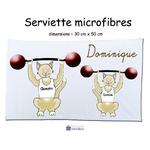 6-serviette-texticadeaux-chat-halterophile-prénom-dominique