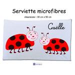 16-serviette-texticadeaux-coccinelle-prenom-gaëlle
