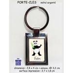 38-porte clés-texticadeaux-cadeaux-panda-prenom-victor