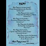 Poème Papy est très Gourmand