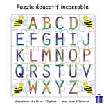 Puzzle Alphabet Réversible Abeille
