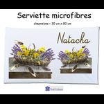 Essuie mains Provençal Personnalisable avec un Prénom