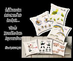 oreiller;coussin;personnalisation;personnalisable;personnalise;prenom;aniaml;themes;mariage