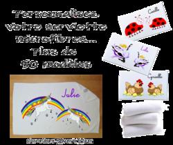 serviette;micro-fibres;personnalisable;personnalisation;prenom;salle-de-bains;toilette;dessins;animal;danseuse;