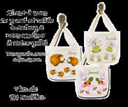 tote-bag;personnalise;personnalisation;personnalisable;prenom;animal;cabas;sac;decoration