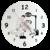 texti;cadeaux;horloge;personnalisable;personnalisation;personnalise;dentiste;cabinet;dentaire;png