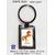 Porte Clés Cheval cabre Personnalisable avec un Prénom