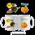 Mug Sorcière Citrouille Halloween Personnalisable avec un Prénom