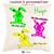 Coussin Les trois Lapins Personnalisable avec un Prénom