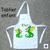 Tablier de Cuisine Enfant Dessin Dragon Personnalisable avec un prénom