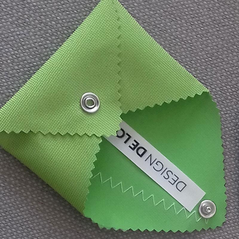Porte-monnaie toile outdoor vert