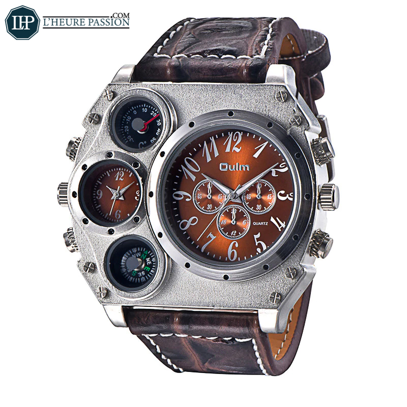 Montre homme super grand cadran