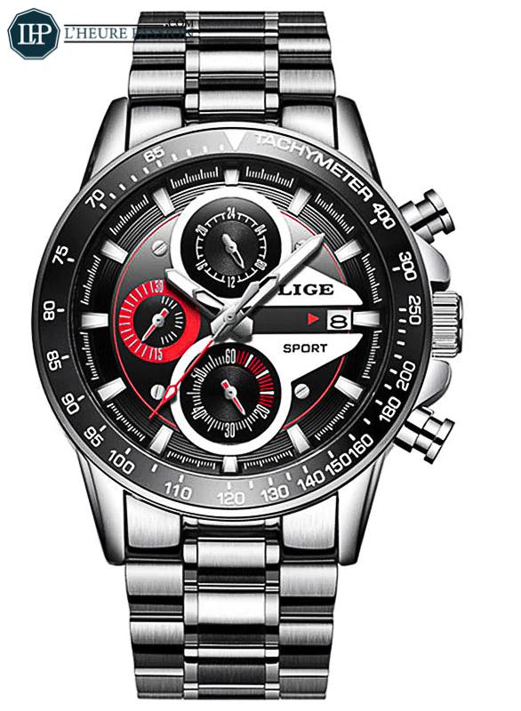 Montre homme créatif affaires chronographe
