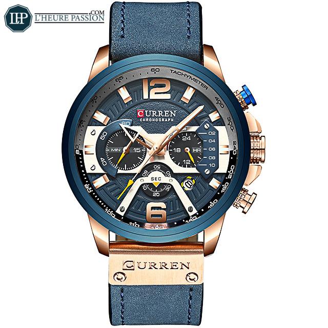 Votre montre décontractée pour homme moderne