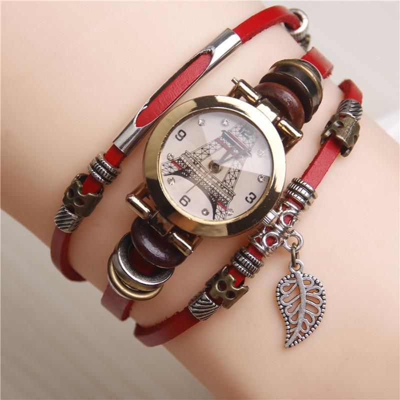 Bracelet avec pendentif montre