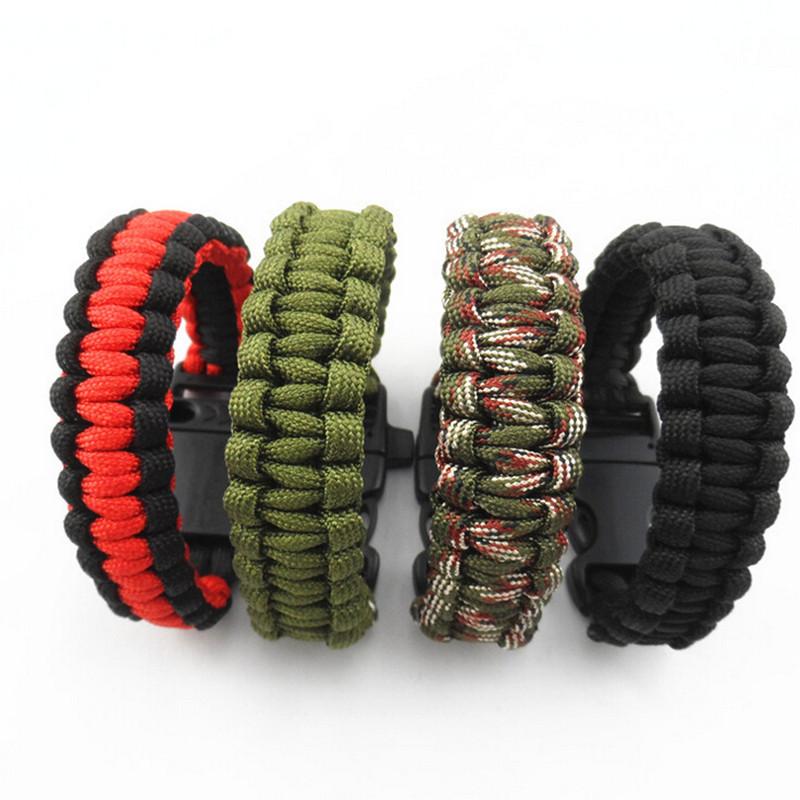 Bracelet corde avec sifflet boucle
