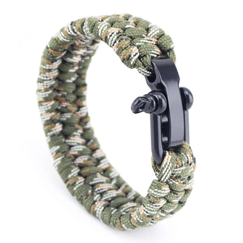 Bracelet de Survie en paracorde d\'encre