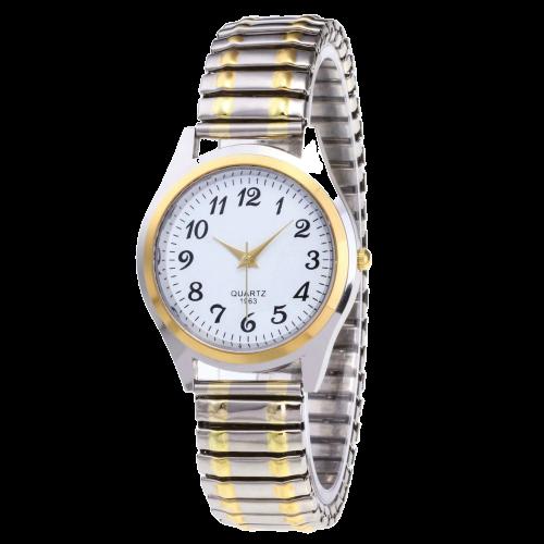Montre bracelet élastique vintage
