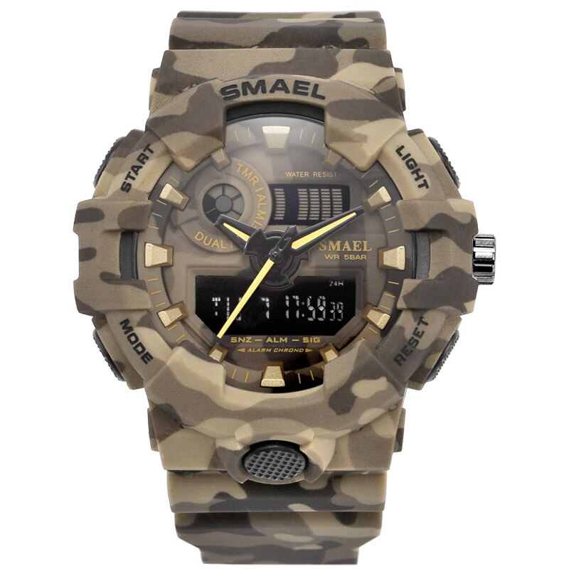 Montre militaire Camouflage