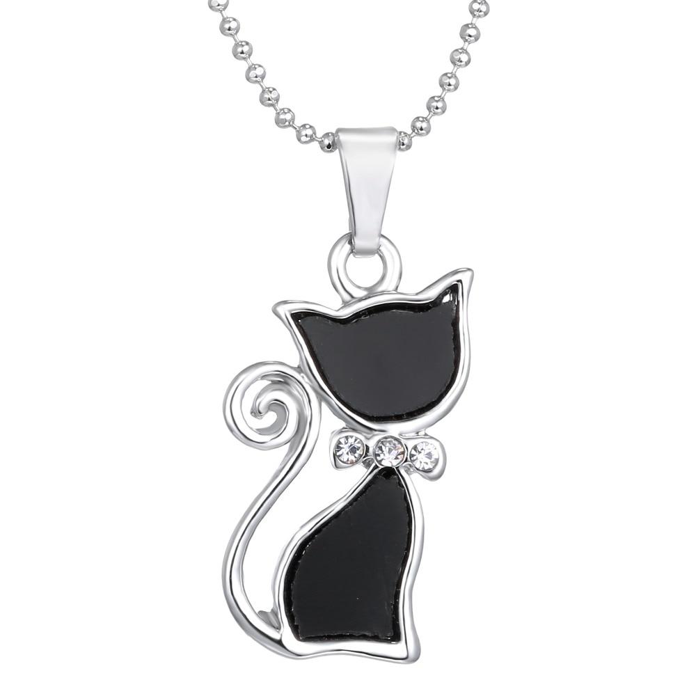 Pendentif chat noir