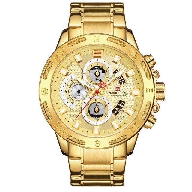 Montre chronographe sport homme
