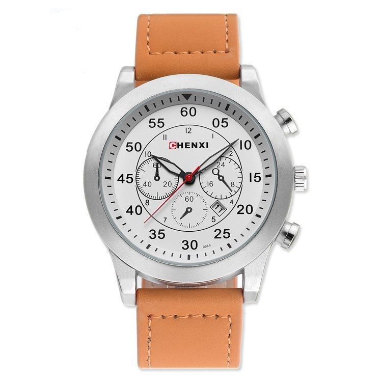 Montre chronographe pour homme d\'expédition sur le terrain