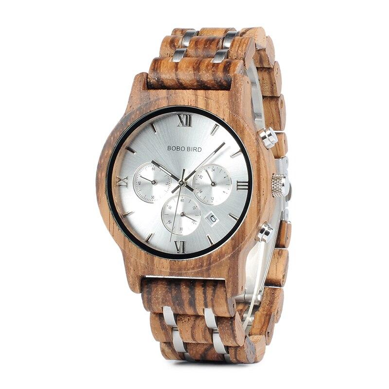 Design unisexe Léger pour cette montre en bois