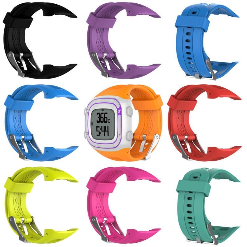 Bracelet de remplacement en silicone souple pour Garmin Forerunner 10/15 Smart Watch Femmes Hommes