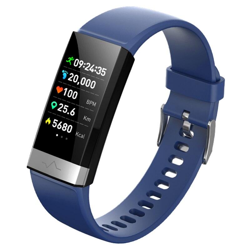 Montre podomètre Bracelet intelligent pour IOS Android