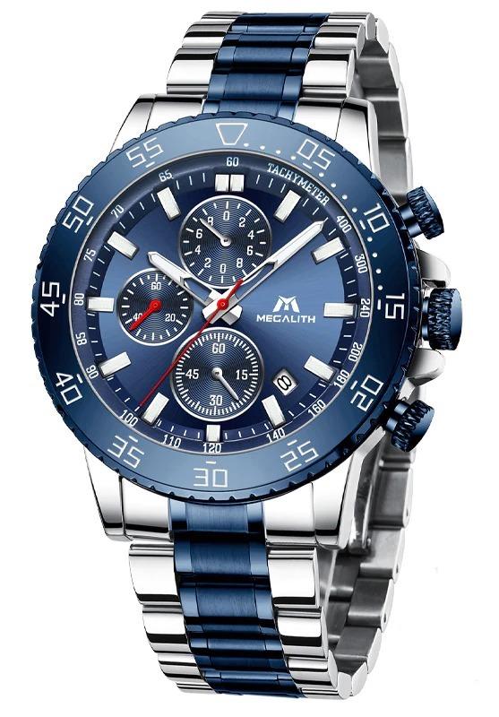 Montres chronographe pour homme Fashion Business