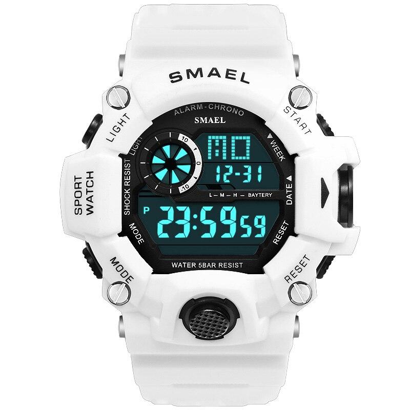 Montre militaire étanche Date Tactique multifonctions Alarme LED Chronomètre