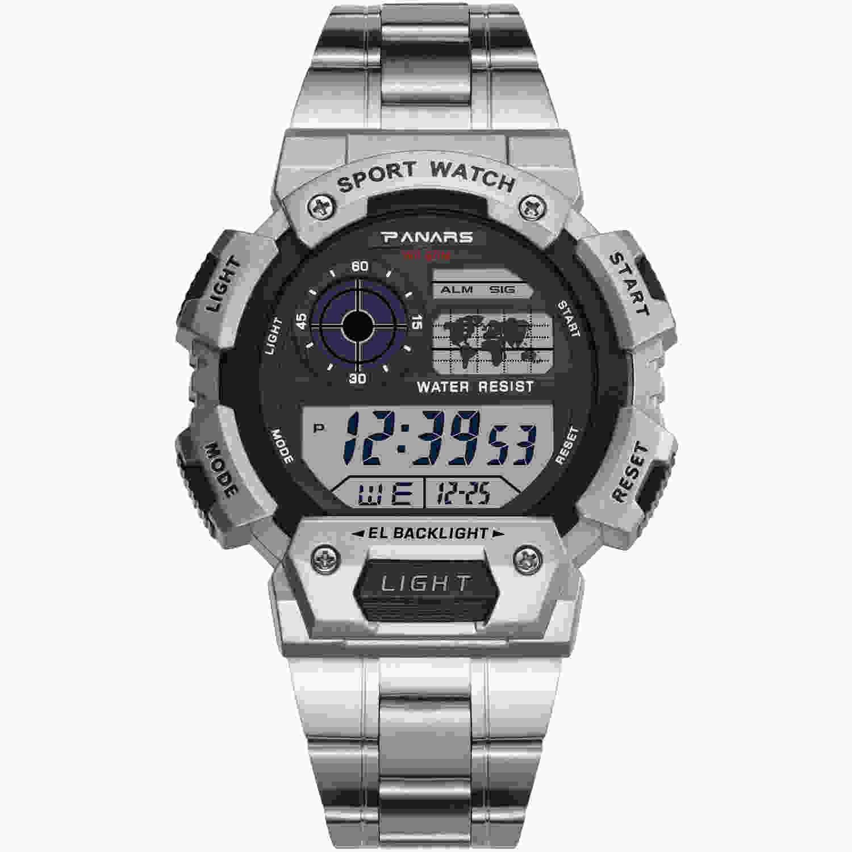 Montre Tactique multifonctions Alarme LED Chronomètre