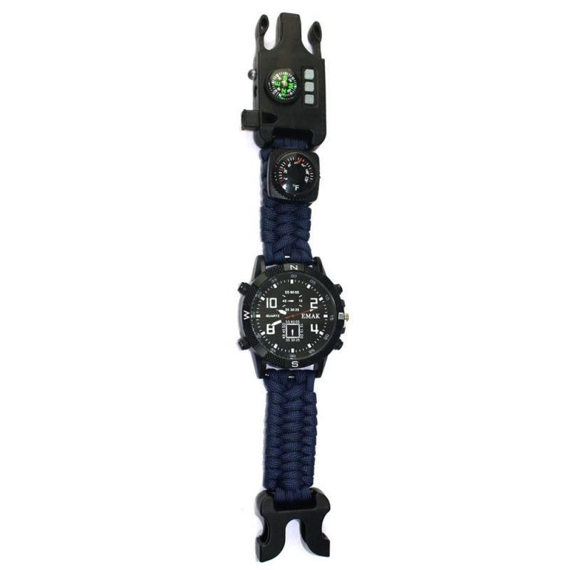Montre Bracelet Multifonctions de Survie Paracord