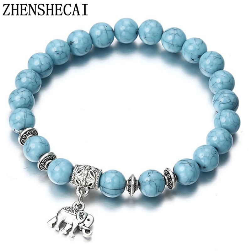 Bracelet Classique Acrylique Bleu