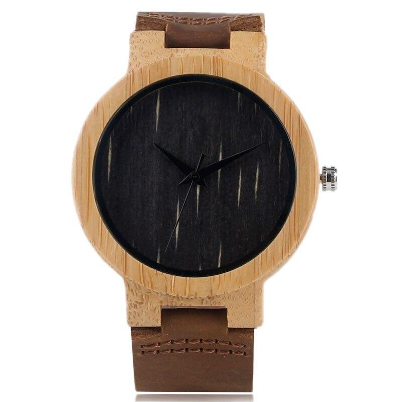 Montre en bois de bambou pour vous offrir un nouveau look