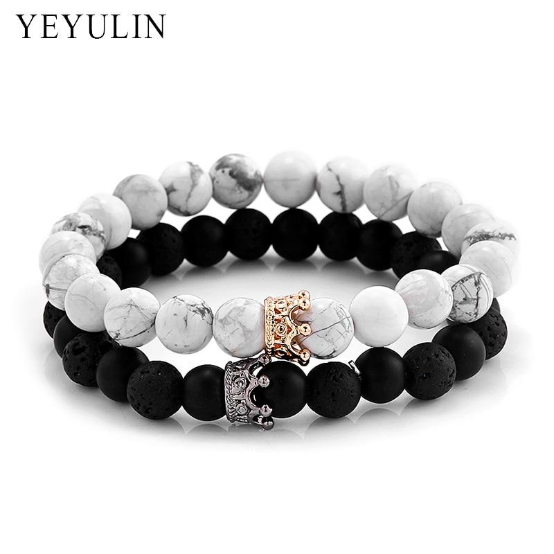 À la mode Noir Blanc Perles de Pierre