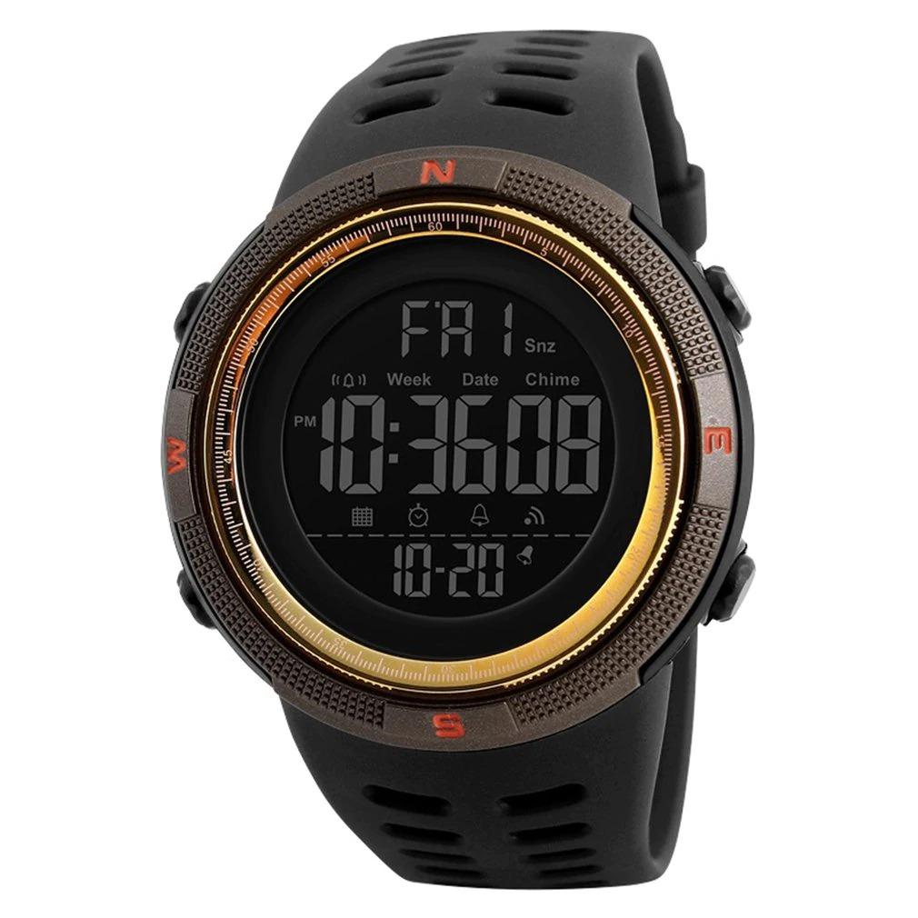LED numérique 50M est une montre spécialement destinée aux sportifs