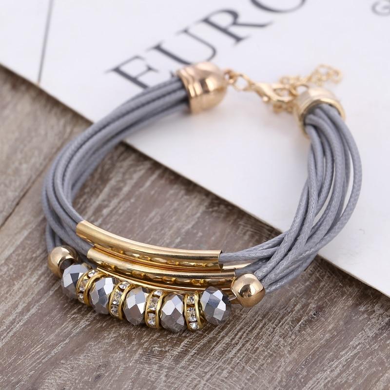 bijoux tendance En Cuir