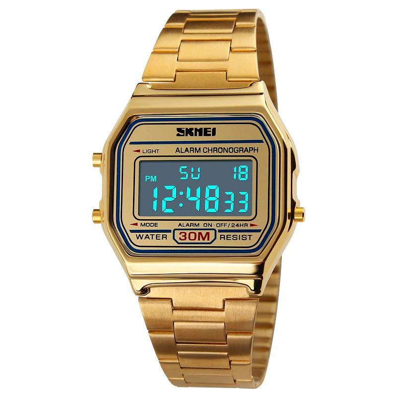 Un look hors du commun, découvrez la montre de luxe LED numérique