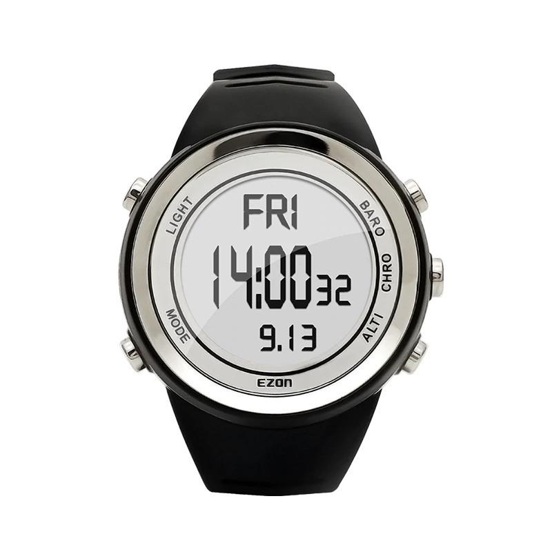 Montre multifonctionnelle qui combine altimètre, baromètre, thermomètre et chronomètre