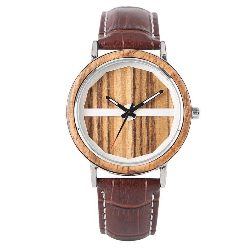 Montre 100% en bois pour homme au design unique