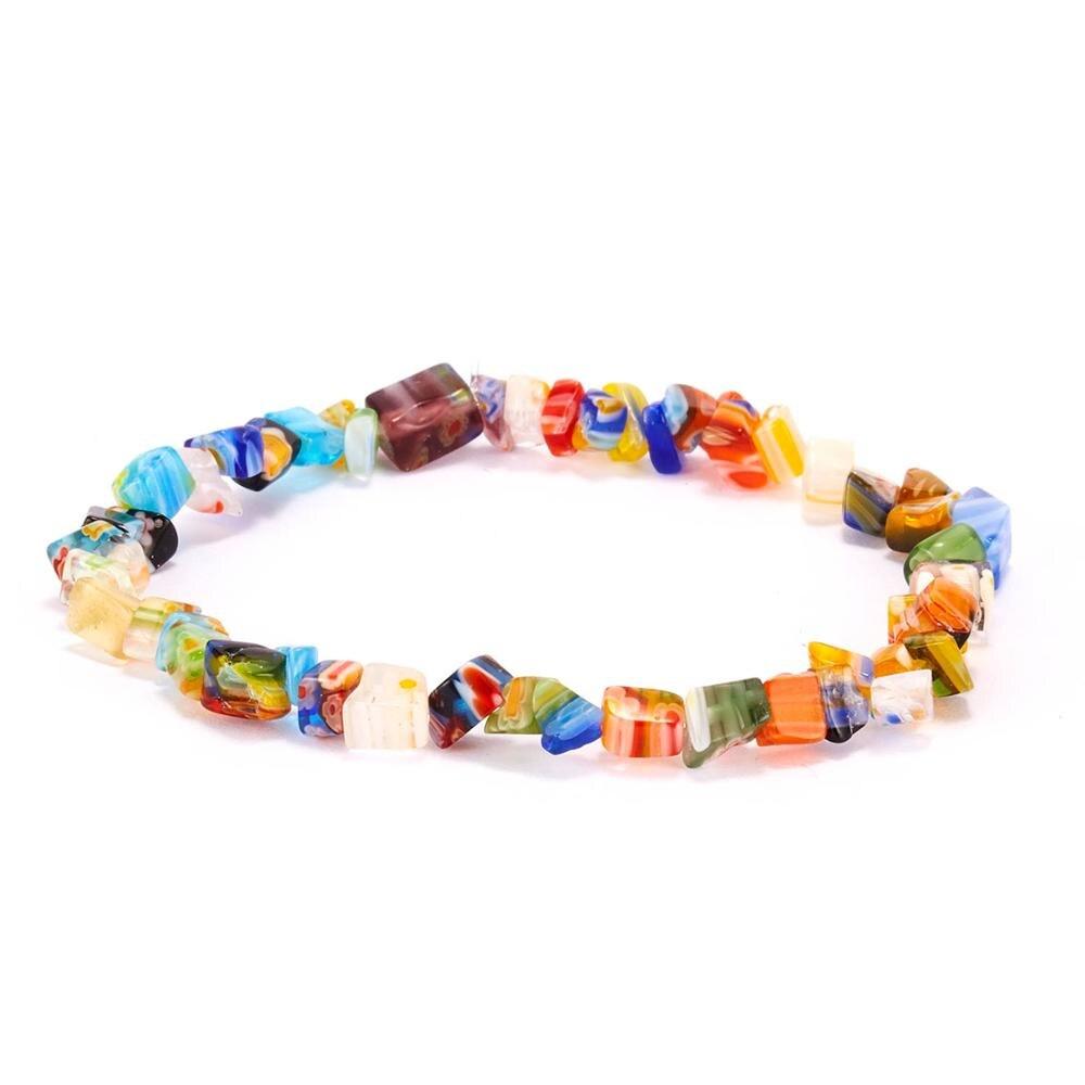 Bracelets avec pierres naturelles - Bracelet extensible pour Femme coloré