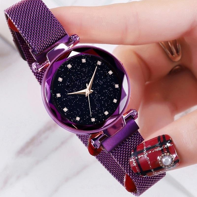 Ciel Étoilé montre-bracelet décontracté