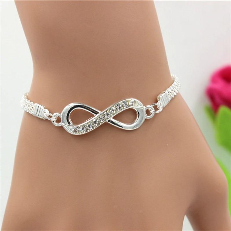 Strass-Infinity-Bracelet-Hommes-de-Bijoux-de-Femmes