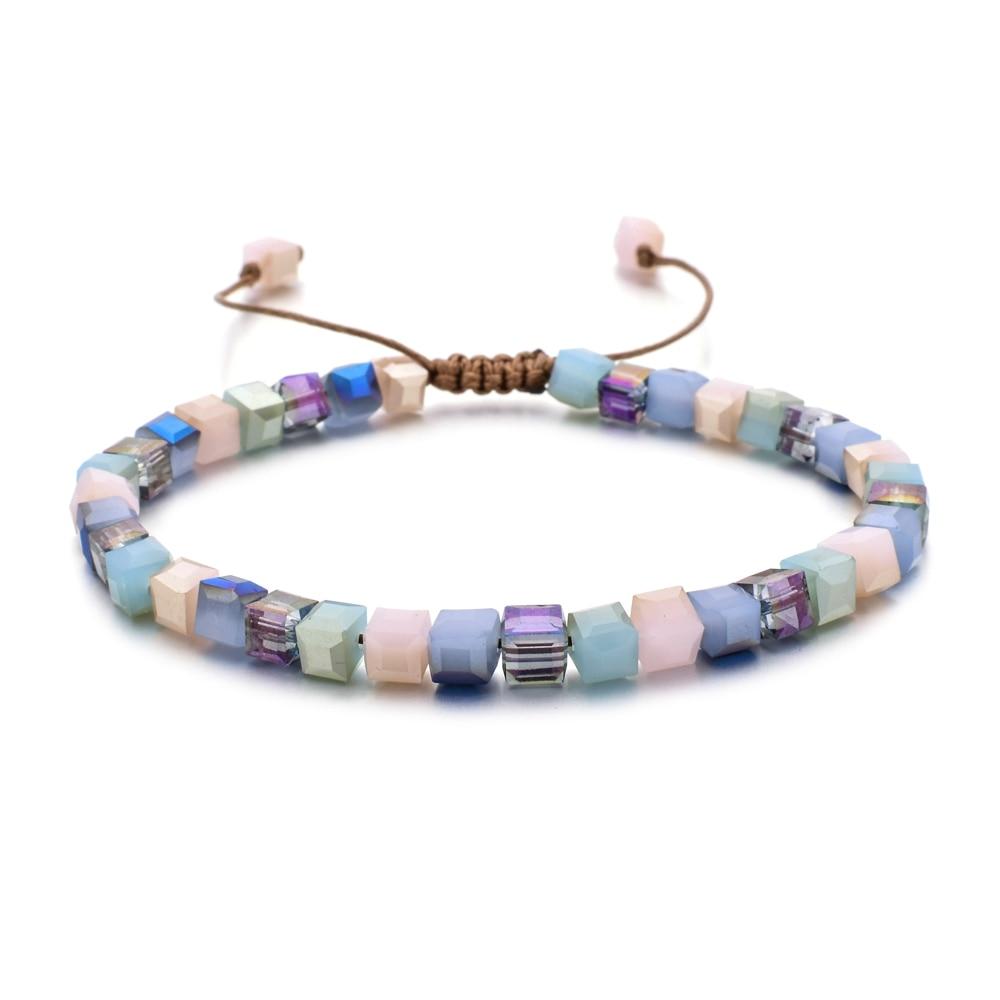 Bracelet femme en perle de verre
