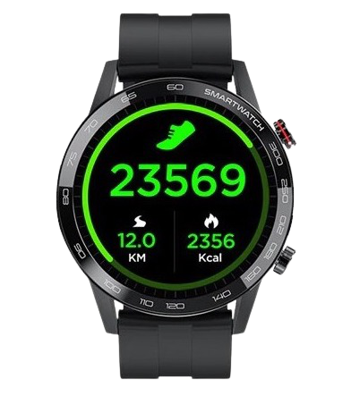 Montre intelligente hommes ECG PPG IP68 étanche Bluetooth musique fréquence cardiaque Fitness Tracker