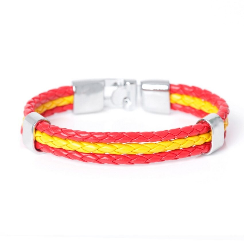 Spain Flag_bracelet-en-cuir-avec-identification-ave_variants-1