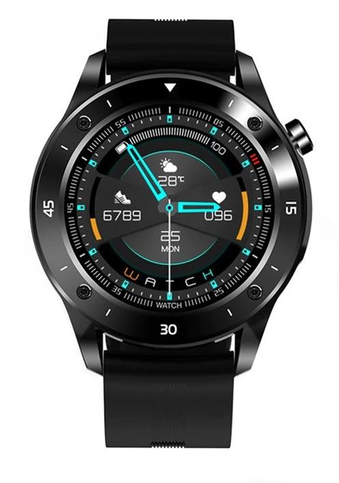 Montre connectée homme écran 1.54 pouces fitness Tracker pour Android Ios