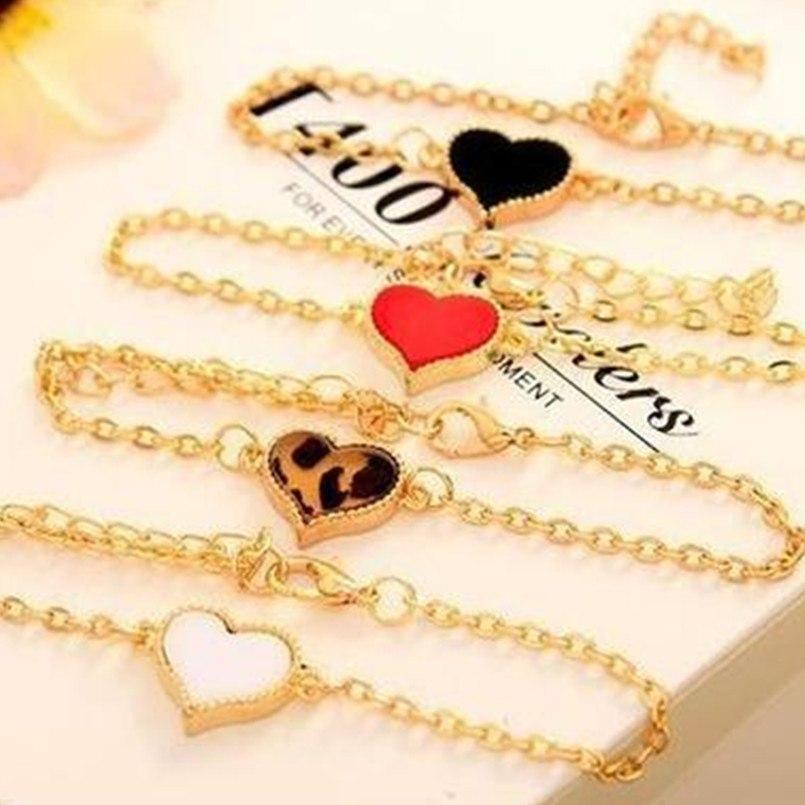 Bracelet au grand coeur